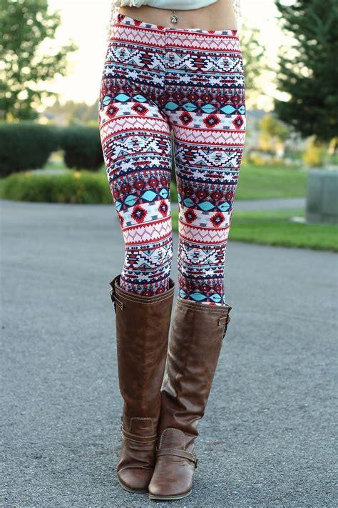 Aztec Pattern Leggings Outfit | the 25 best aztec leggings ideas on pinterest printed