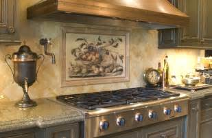 kitchen tile murals tile backsplashes beautiful backsplash murals make your kitchen look
