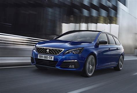 pezo auto 2018 peugeot 308 facelift revealed gets 8spd auto