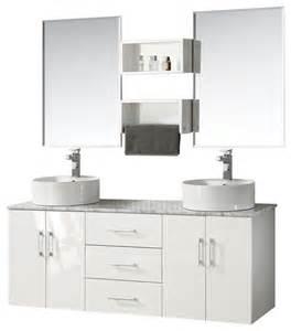 59 bathroom vanity sink 59 quot wall mount sink white vanity set modern