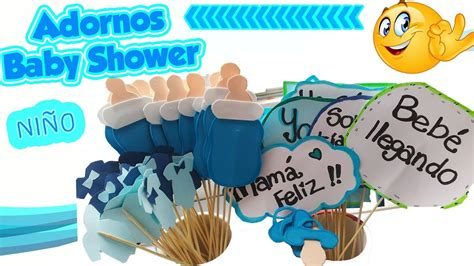 Adornos Para Baby Shower De Nino by Como Hacer Adornos Para Baby Shower Ni 209 O Decoraci 211 N Diy