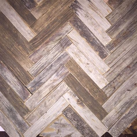 hometalk reclaimed wood herringbone backsplash for