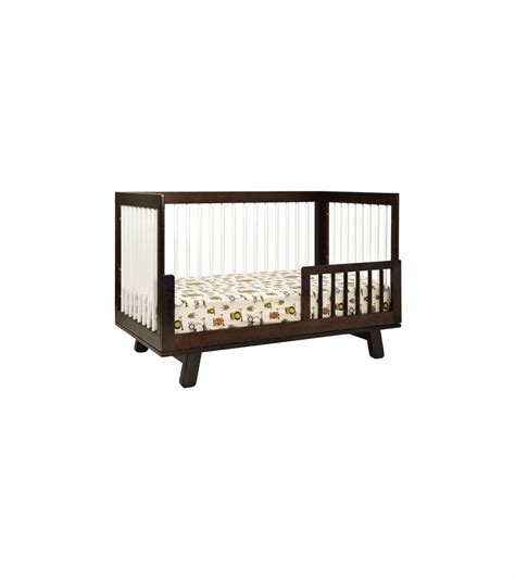 Hudson 3 In 1 Convertible Crib Babyletto Hudson 3 In 1 Convertible Crib With Toddler Bed Conversion Kit In Espresso White