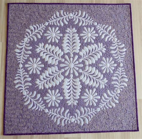 Trapunto Quilt by Patchwork And Quilting Studio How To Make Shadow Trapunto