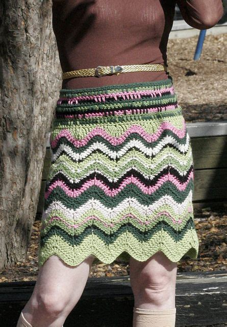 zig zag crochet skirt pattern free knit crochet skirt patternschevron crochet missoni