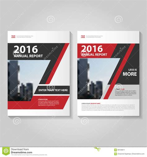 brochure template red abstract red black annual report leaflet brochure flyer