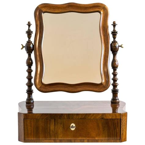 Small Vanity Mirror by Small Louis Philippe Vanity Mirror Circa 1860 At 1stdibs