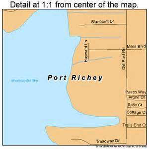 map of florida ports port richey florida map 1258600