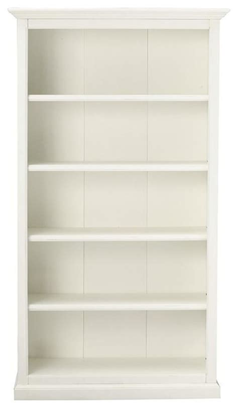 martha stewart living ingrid bookcase rubbed ivory 5