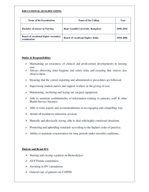 Resume Sle For Dialysis Acute Dialysis Sle Resume Free Microsoft Word Resume Nursing Home