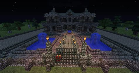 haunted house in minecraft haunted house wip creative mode minecraft java edition minecraft forum