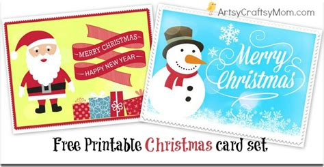 printable christmas cards for mommy 2 free printable christmas cards print at home artsy