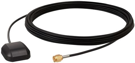 gps antenna small magnetic mount  volt unit   meter cable sma male connector