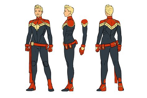Captain Original amazing captain marvel fan in concept style by