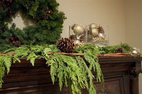 2 minute christmas decor real garlands home hinges