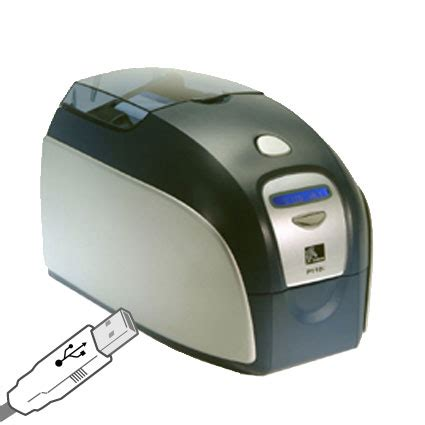 Printer Zebra P110i p120i 0000a id0 id card printer zebra p110i posmicro