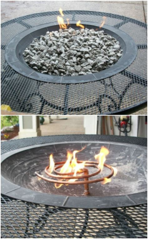 diy gas pit table 30 brilliantly easy diy pits to enhance your outdoors page 2 of 2 diy crafts