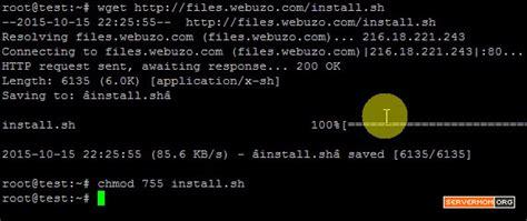 tutorial chmod ubuntu how to install webuzo on ubuntu 15 04 vps newbie tutorial