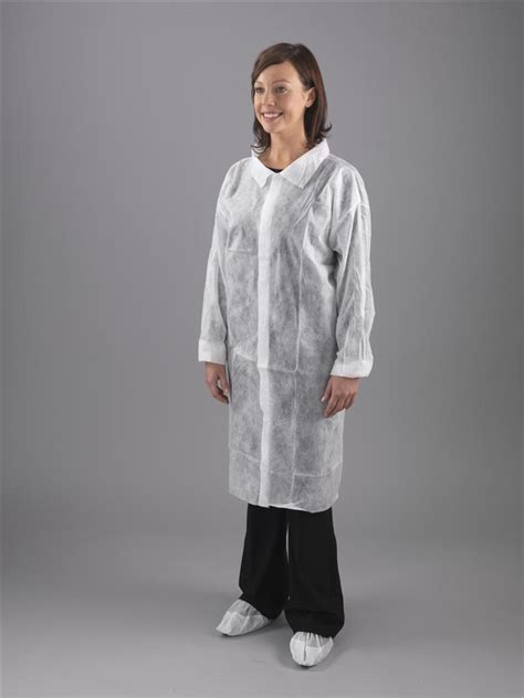 Disposable Coat disposable visitor coats non woven 1st biotech