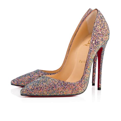 christian louboutin shoes christian louboutin so kate glitter dragonfly in etincelle