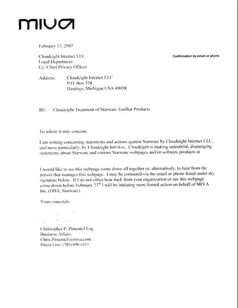 Demand Letter Virginia Attorney Demand Letter Sle Free Printable Documents