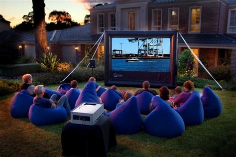 backyard the movie great home theater set up for hours watching movies