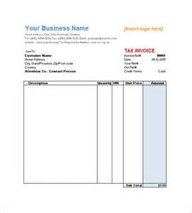 Service Invoice Template Free by Service Invoice Template 11 Free Word Excel Pdf