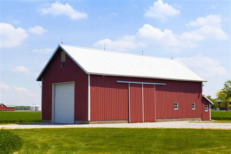 Storage Barns Prefabricated Steel Hay Storage Barns