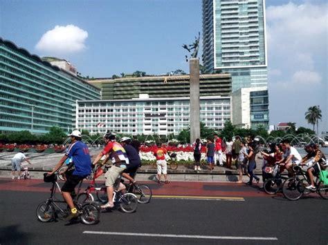 Jakarta Car Free Day ayo berakhir pekan sehat di car free day jakarta