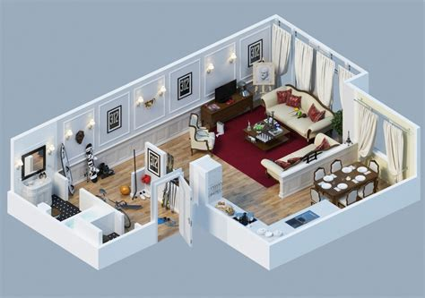 apartment layout interior design ideas