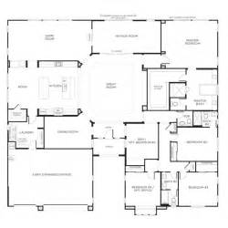 floor plans for single story homes best 25 one story houses ideas on one floor