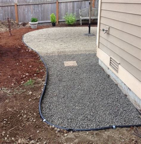 Pea Gravel Backyard by Best 25 Pea Gravel Patio Ideas On Gravel