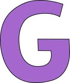 purple letter g clip art purple letter g image