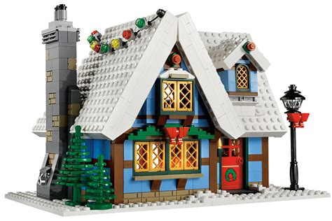 winter cottage lego lego winter kerst on lego lego