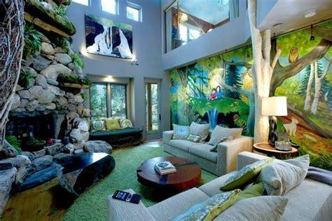 Schlafzimmer Jungle by Wandmalerei Macht Das Wohnzimmer Noch Wohnlicher 30