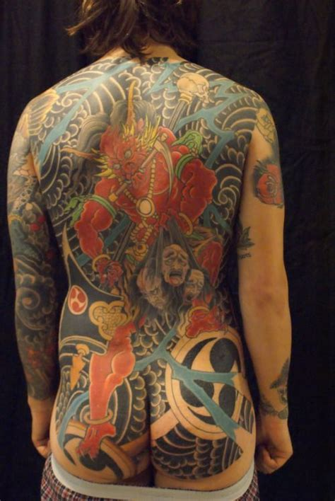 japanese tattoo vest 131 best images about raijin and fujin on pinterest