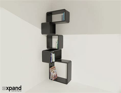 modular wall shelves modular corner cube shelf m expand furniture