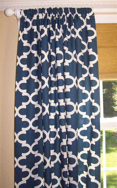 Navy Blue Patterned Curtains Navy Patterned Curtains 28 Images Navy Blue Patterned Curtains Navy Blue Patterned Orange