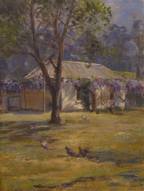 Colville Cottage Hobart by Hookey Mabel Madeline Artists Australian Auction