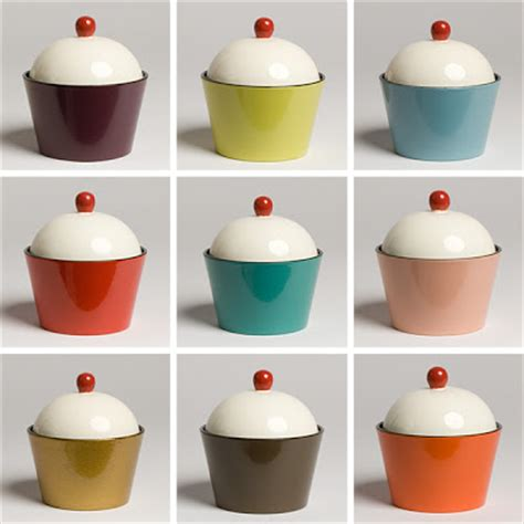cupcake canisters for kitchen welcome home cupcake canisters
