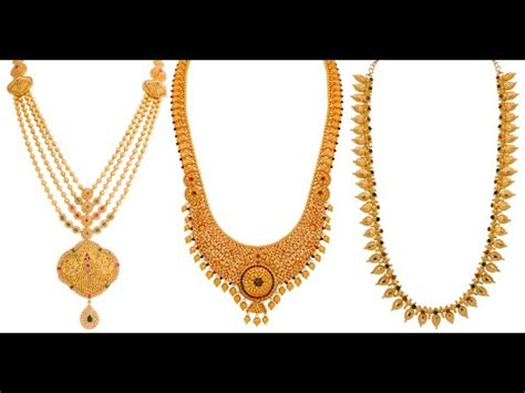 lalitha jewellery gold haram designs