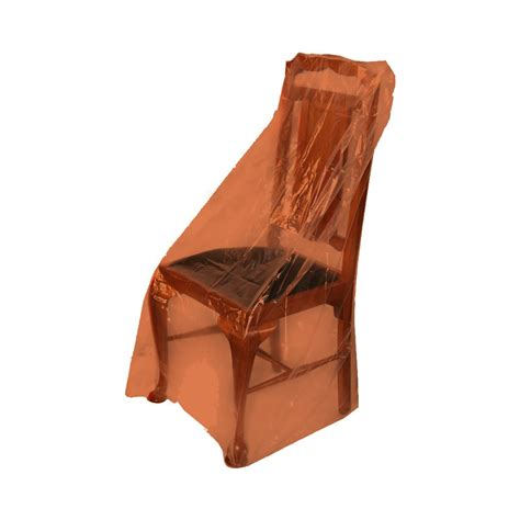 plastic recliner chair covers furniture cover dining chair roll of 100 75um