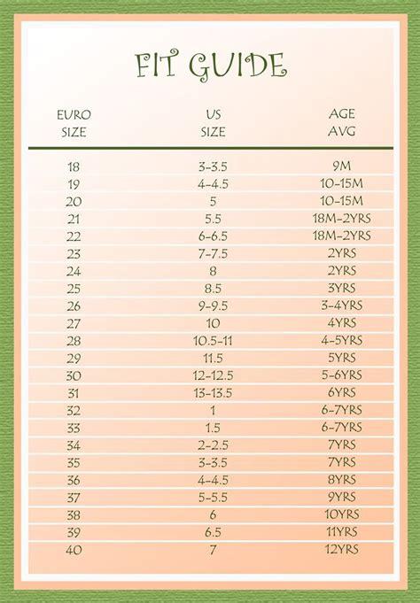 shoe size chart preschool best 25 shoe size conversion ideas on pinterest shoe