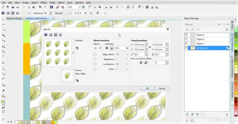 coreldraw pattern fill tutorial webinar creating rapports and pattern fills corel