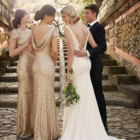Runway to Wedding Day: Sequin Bridesmaid Dresses   Pretty Happy Love   Wedding Blog   Essense