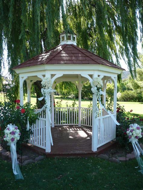 Backyard Wedding Gazebo Best 25 Gazebo Wedding Decorations Ideas On