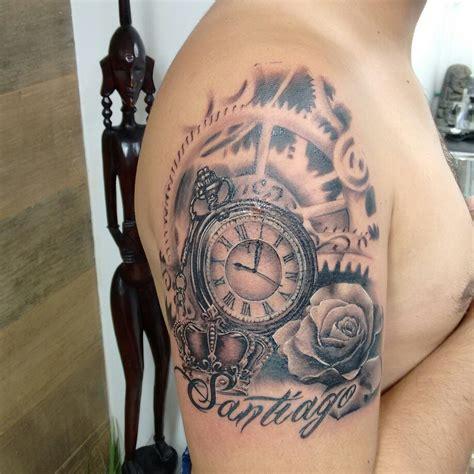 imagenes tatuajes reloj reloj tatuajes de reloj tatuajes de rosas tatoo