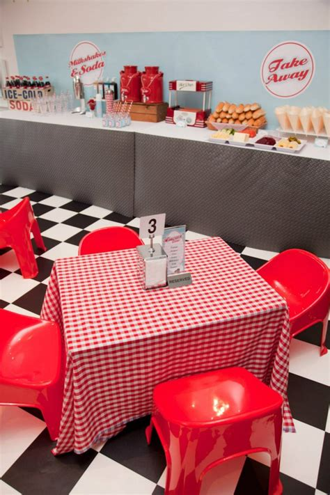 diner theme decorations retro 50 s diner the connection your liaison to
