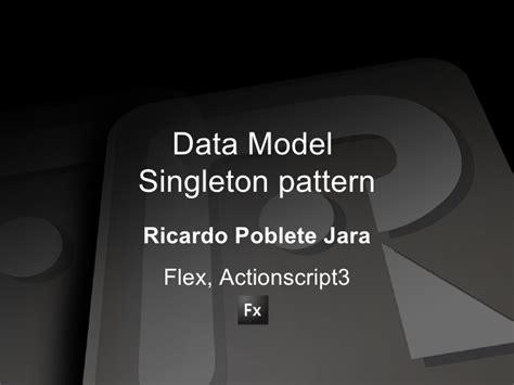 singleton design pattern in c net with exle data model singleton pattern