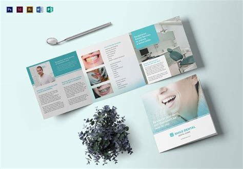 22 dental brochure psd vector eps jpg download